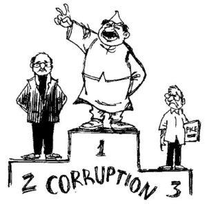 राजनीतिक भ्रष्टाचार