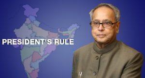 president's-rule